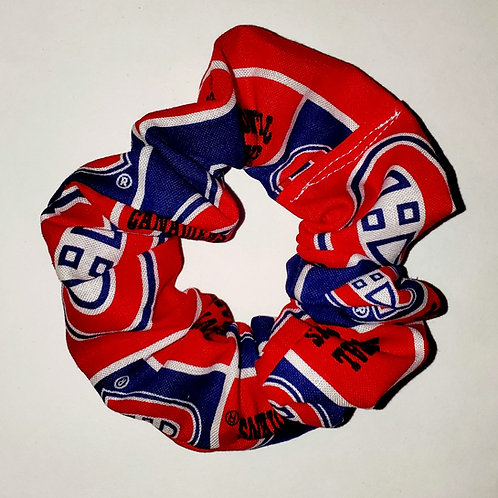 Montreal Hockey Scrunchie