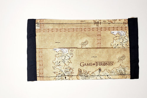 Game Of Thrones Face Mask Map
