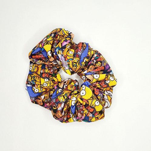 Simpsons Hair Scrunchie