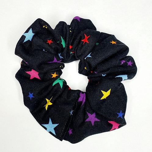 Black Stars Scrunchie