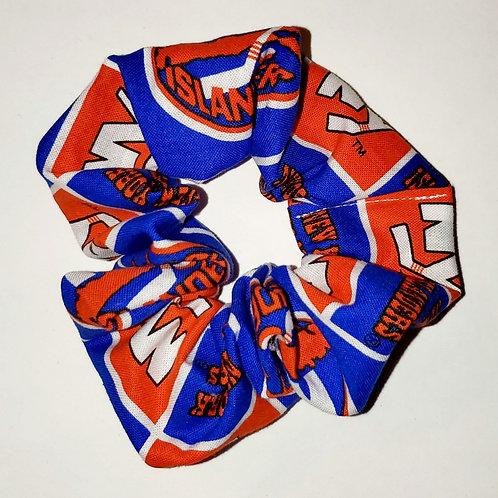 New York Hockey Scrunchie
