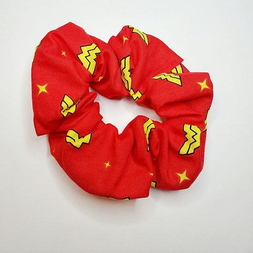 Wonder Woman Hair Scrunchie