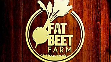 Fat Beet Farm Logo Design