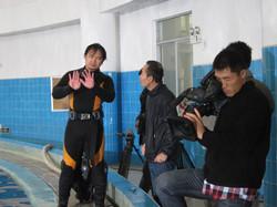 中央電視台「野性的呼喚」拍攝