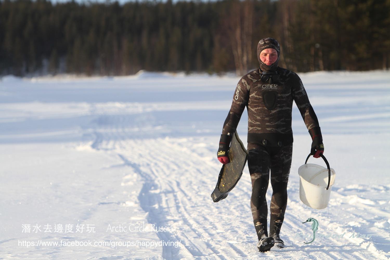 北極圈冰潛,蘇聯 ARCTIC CIRCLE, RUSSIA-48