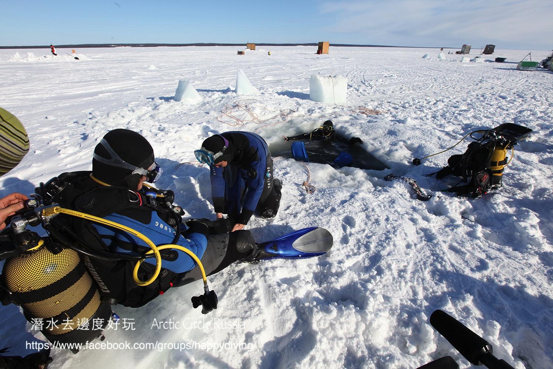 北極圈冰潛,蘇聯 ARCTIC CIRCLE, RUSSIA-14
