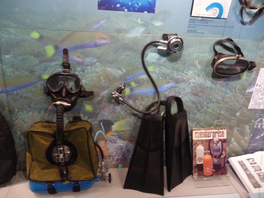 香港海事博物館「海中噚」