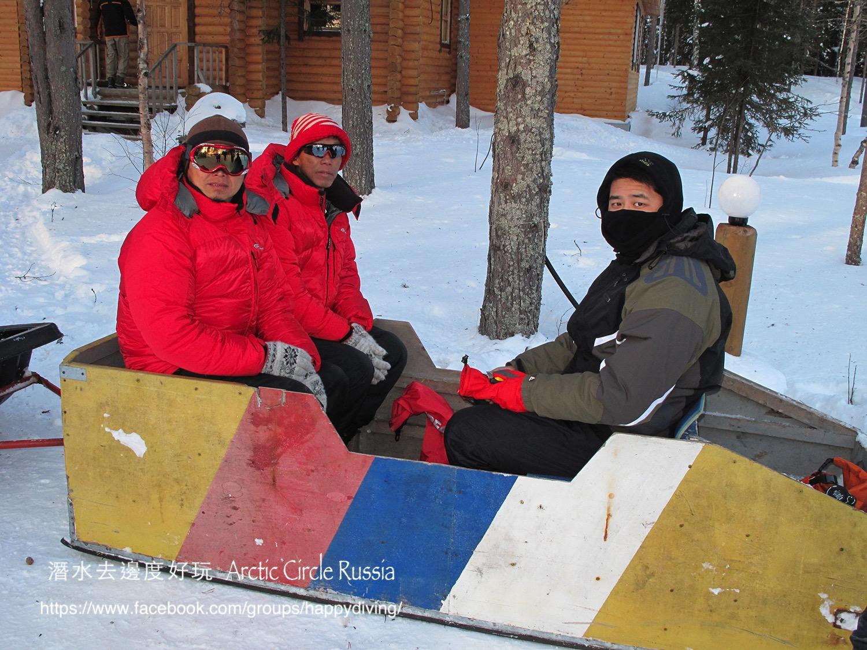 北極圈冰潛,蘇聯 ARCTIC CIRCLE, RUSSIA-34