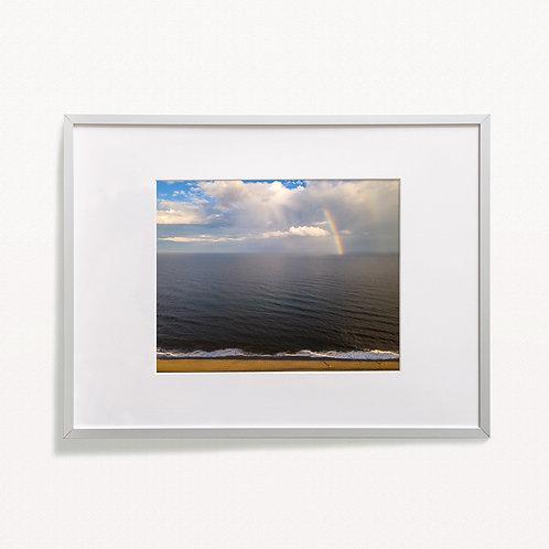 """""""Coastal Rainbow"""" Print"""