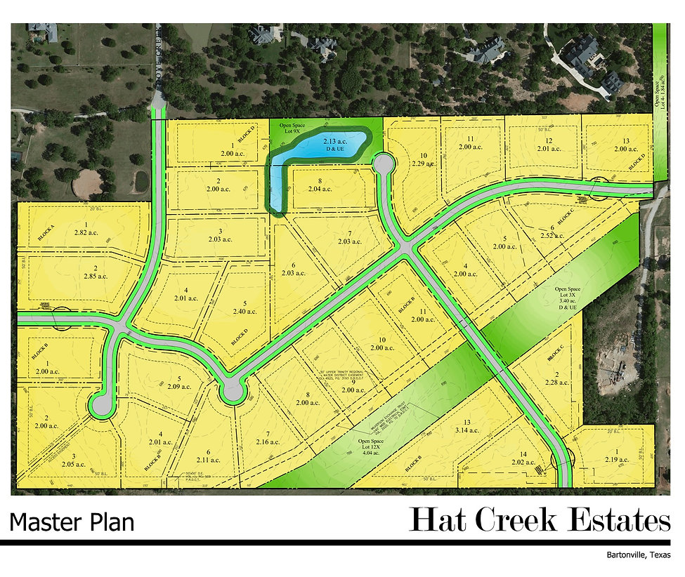 161024 Hat Creek Estates - Master Plan 1