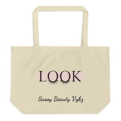 Look Lg organic tote bag