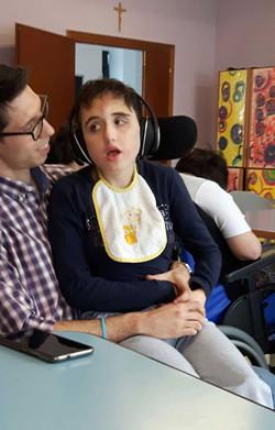 Franci e Simone a suon di musica