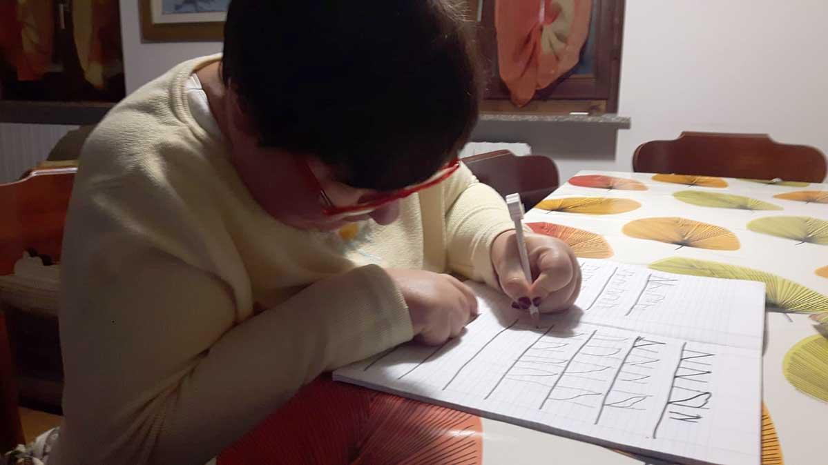 Paola fa i  compiti!