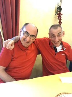 Che coppia! Silvio e Luca