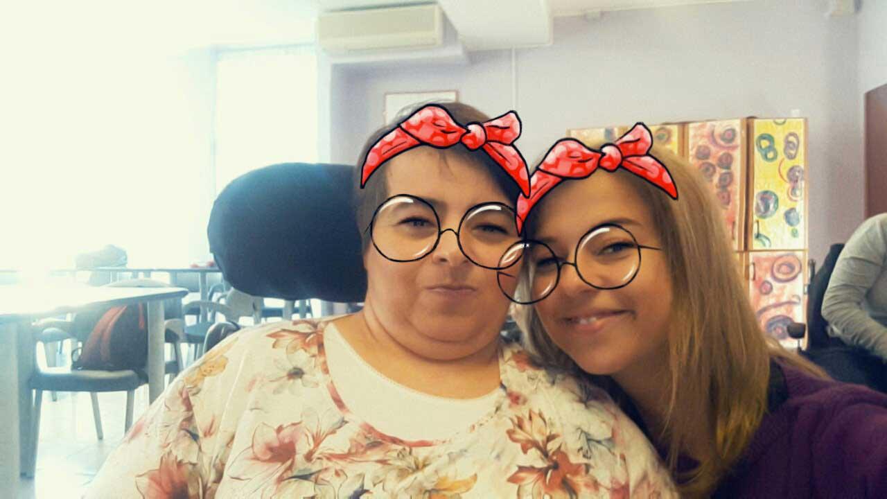 Stefania e Caterina