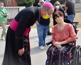 Mons.Vescovo a colloquio con Lorena