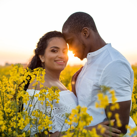 Leticia and Ademola Engagement Shoot
