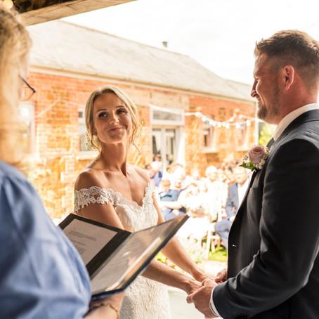 Ellie and James's Wedding at Ash Tree Barns