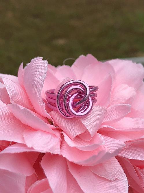 Miss Pink Awareness Custom Rings