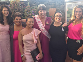 Miss Pink Volunteer of the Year Attends Boston Bombshell Event with Baby Bump