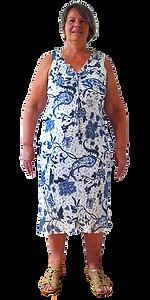 Gabriella Heiss vor der Gewichtsabnahme
