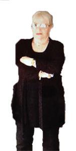 Esther Banischewski vor der Gewichtsabnahme