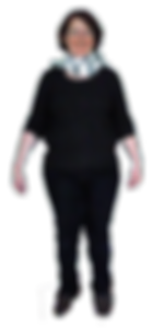 Jaqueline Riester vor der Gewichtsabnahme