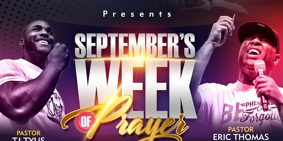 Week of Prayer - September