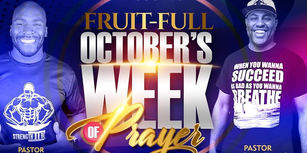 Week of Prayer - October
