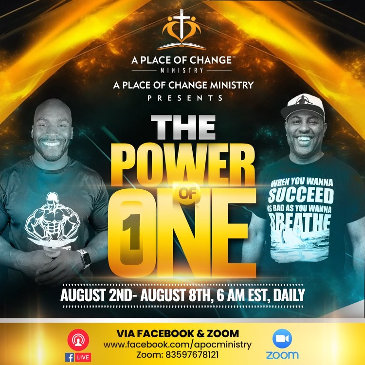 Week of Prayer: The Power of One
