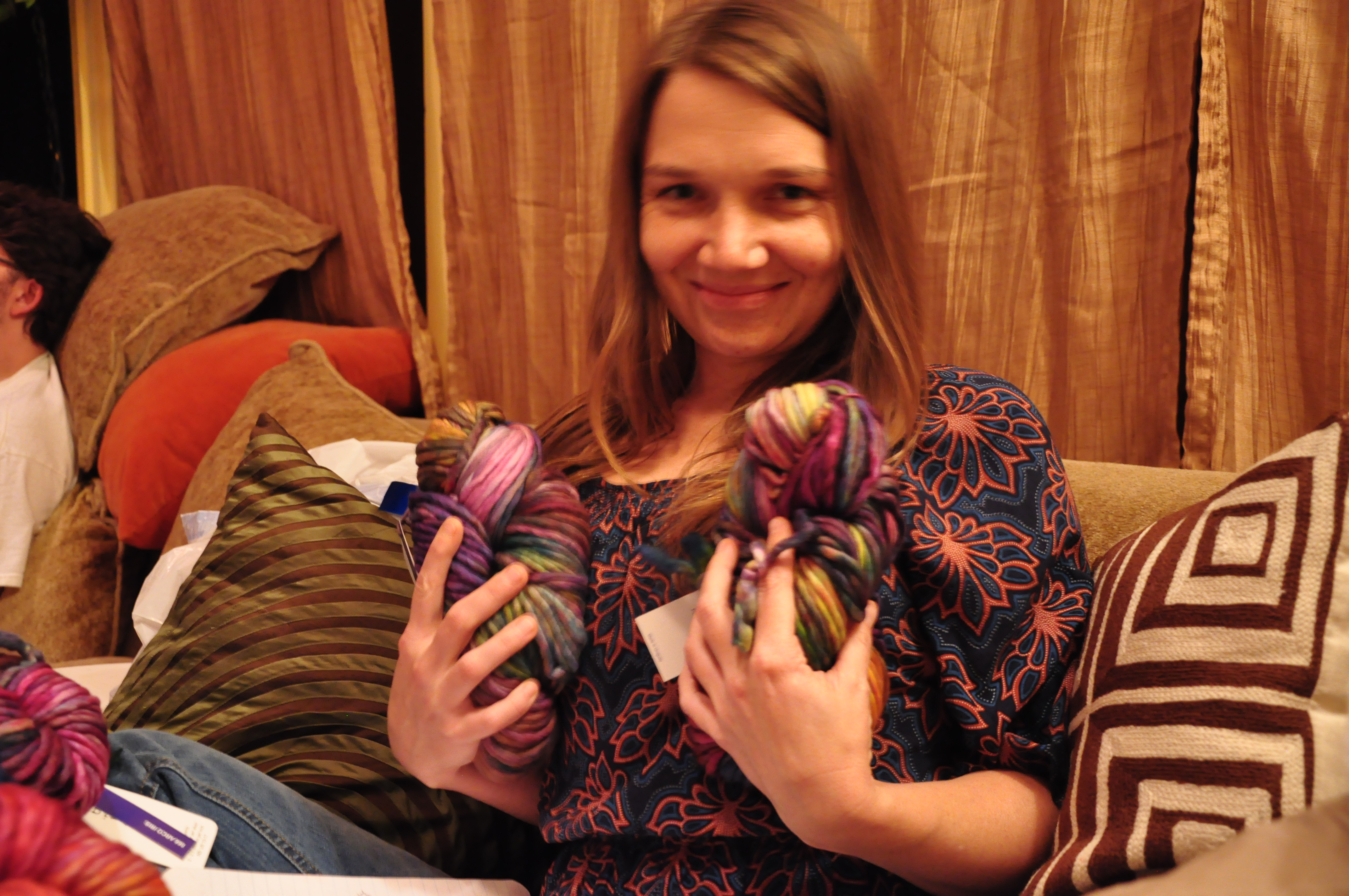 "Karen's ""Yarn Grab"" Face"