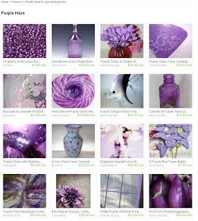 Cora's Purple Pony Handspun