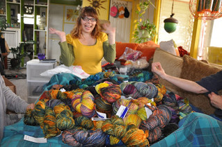 It's Raining, It's Pouring, Malabrigo Yarn-Storing!