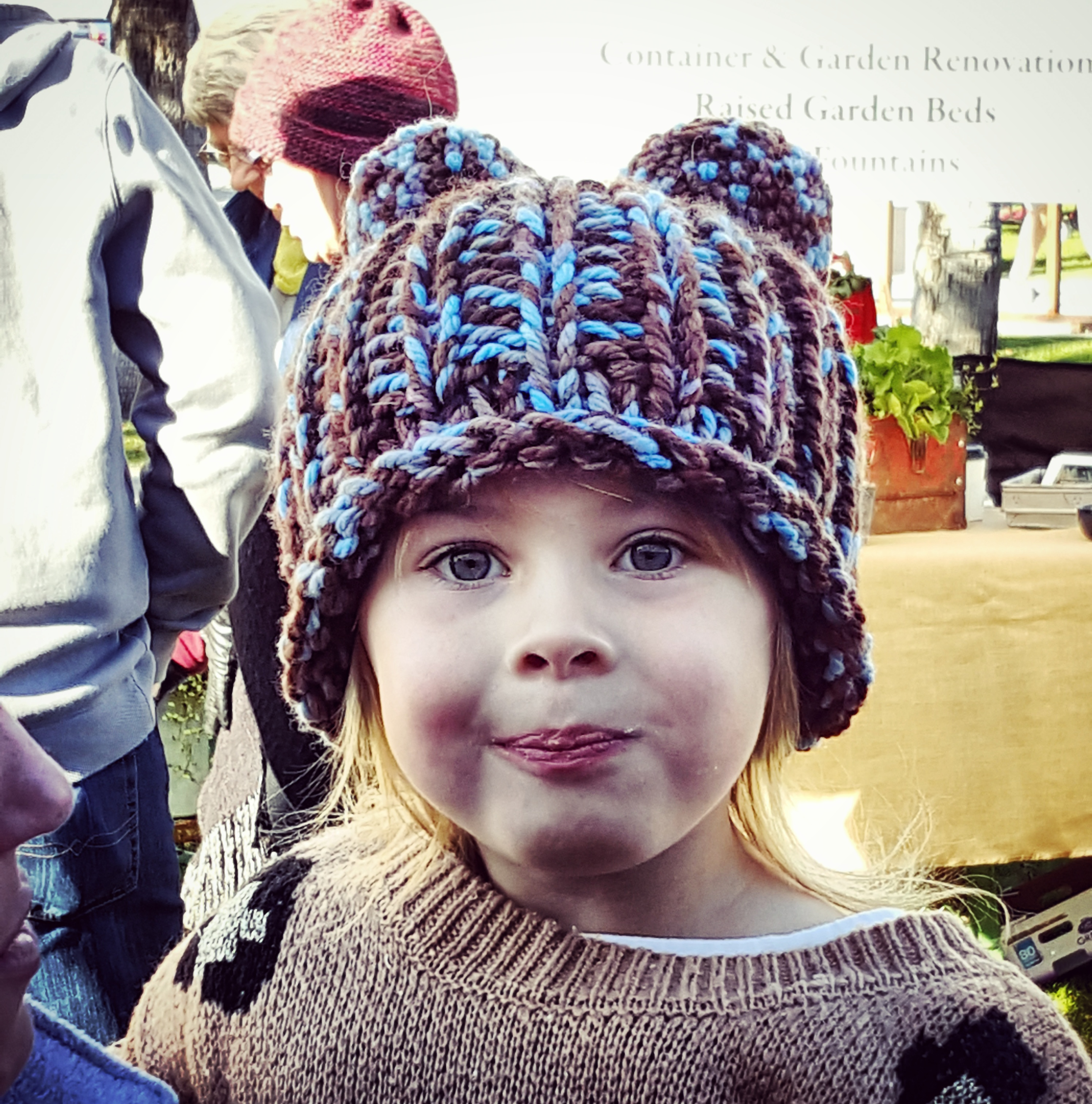 Farmers Market Child