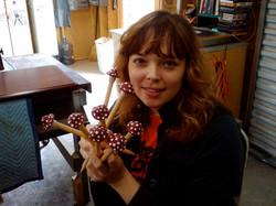 Cora Creates Mushroom-Topped Needles