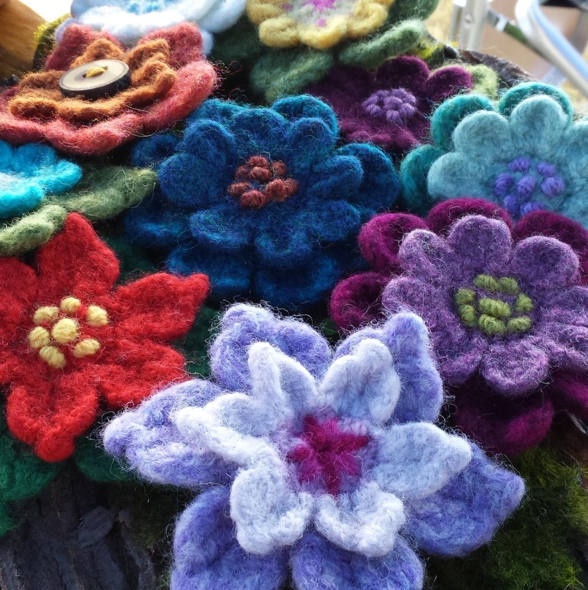Karen's Felted Flowers
