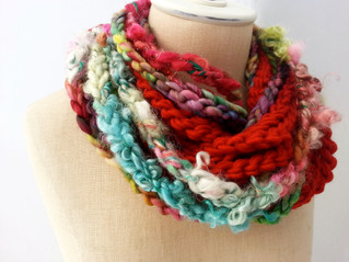 10 Ways to Wear a Loop Scarf