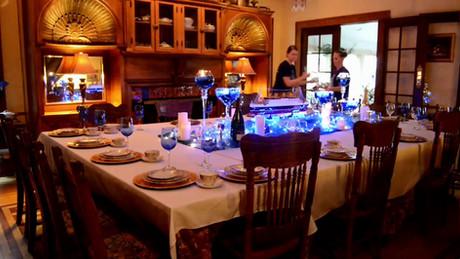 Titanic Dinner Table Video