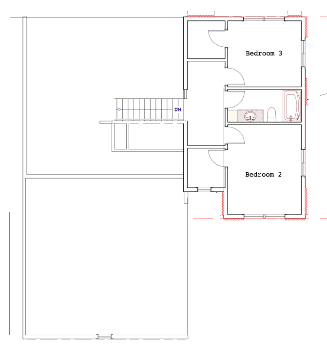 Heritage Farmhouse - Second Floor Plan