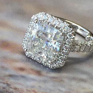 Custom Design Engagement Rings Dallas