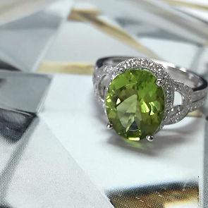Custom Design Emerald Rings Dallas