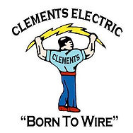 Clements Electric Logo