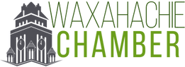 Waxahatchie TX Chamber of Commerce Logo.