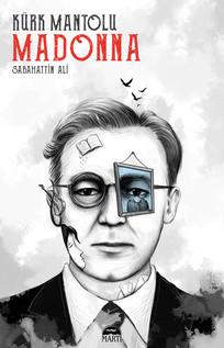 """Kürk Mantolu Madonna"" Sabahattin Ali Turkish Novelist / Book Cover"