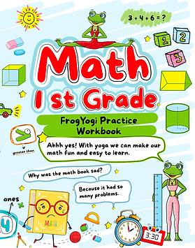1st Grade Math FrogYogi Workbook