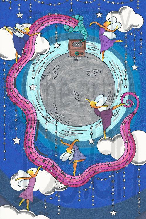 Dancing in the Moonlight 11x17