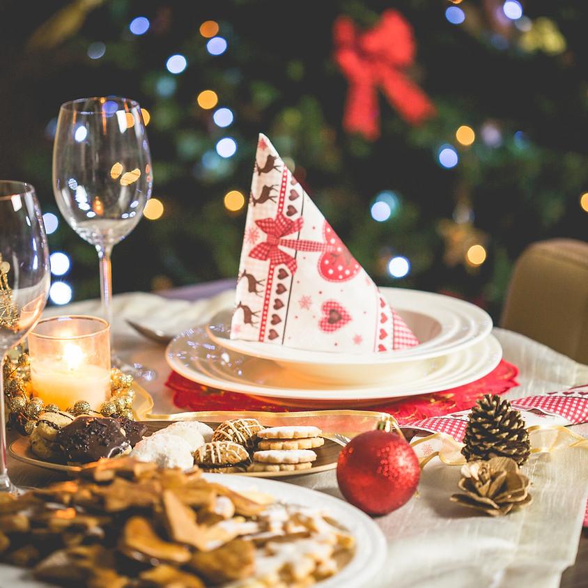 Christmas Dinner - Regular, vegan and Kids Menu