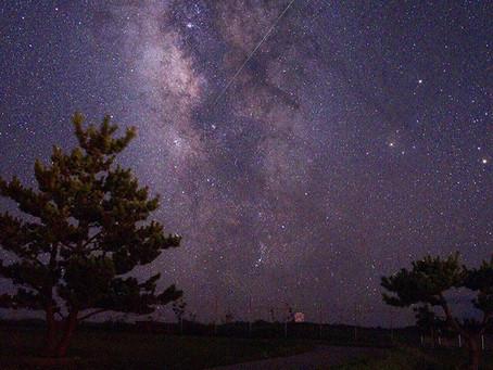 星降る…じゃ足りない!神津島で秋の夜空に
