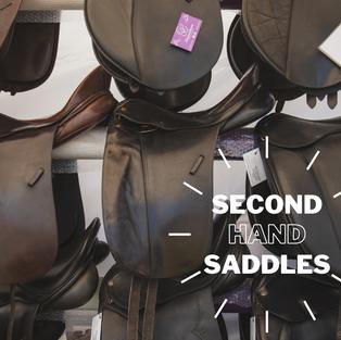 Second Hand Saddles