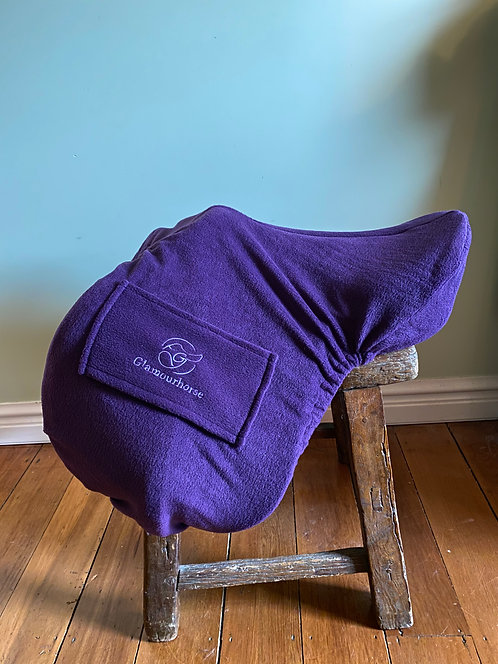 Glamourhorse Fleece Saddle Cover